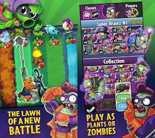 Plants Vs Zombie Heroes [Mod] Apk Unlimited Suns