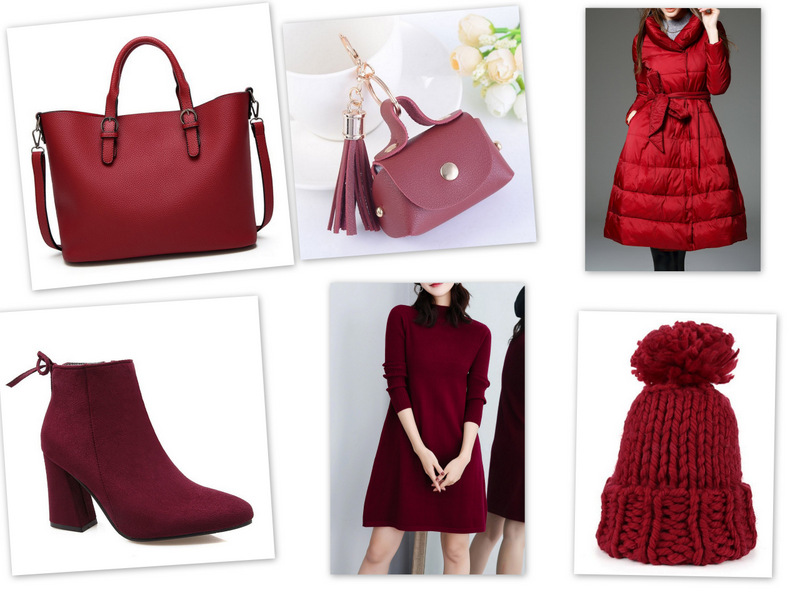 My DRESSLILY Wish-List: BURGUNDY