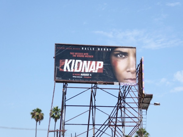 Kidnap movie billboard