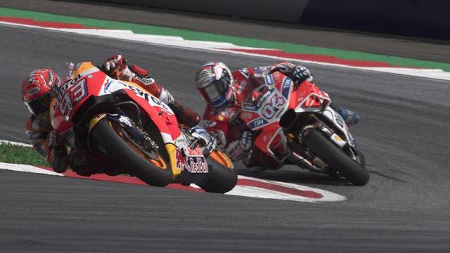 Marquez atau Dovizioso yang Juara Dunia? Ini Kata Rossi