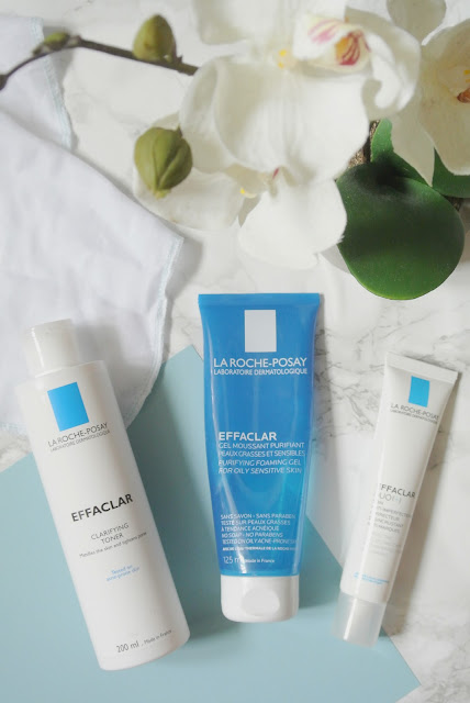 La Roche Posay Effaclar 3 step anti blemish solution review skincare spot prone acne french pharmacy treatment