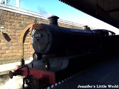 Hogwarts Express journey at Universal Studios, Orlando