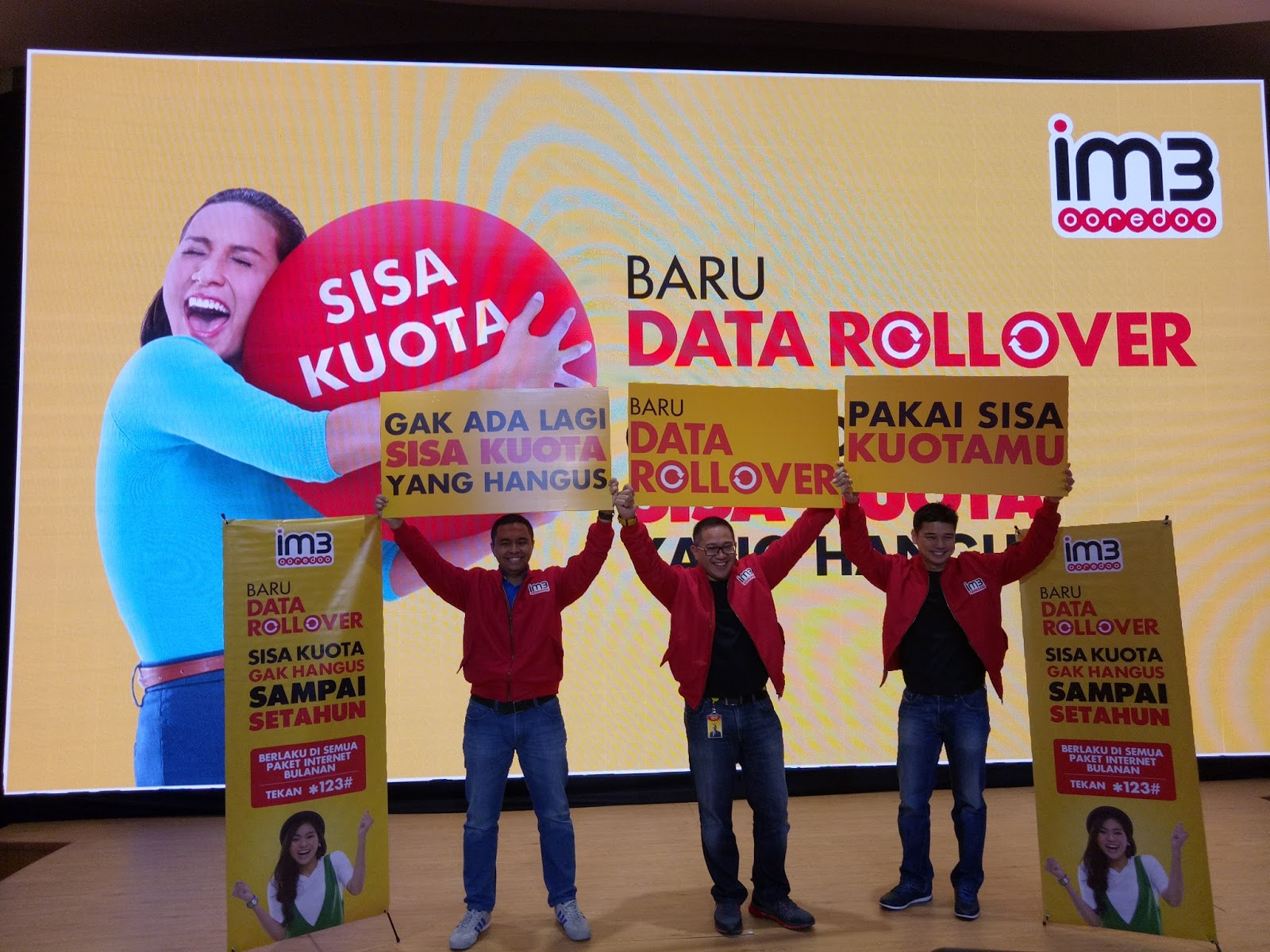 Blog Inovasi Jasa Keuangan Dan Teknologi Im3 Ooredoo Hadirkan Data Kuota Rollover Sisa Tak Hangus