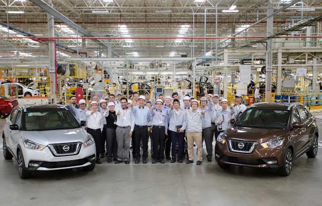 Nissan Kicks Nacional: produção iniciada na fábrica de Resende