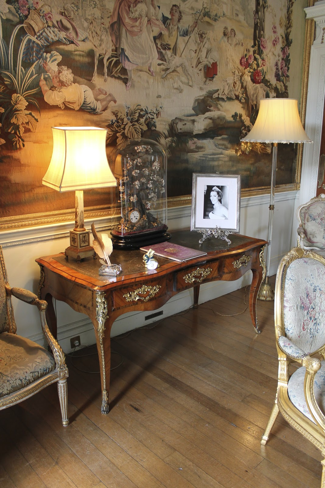 Downton Abbey Drawing Room: My Notting Hill: My Visit Inside Downton Abbey