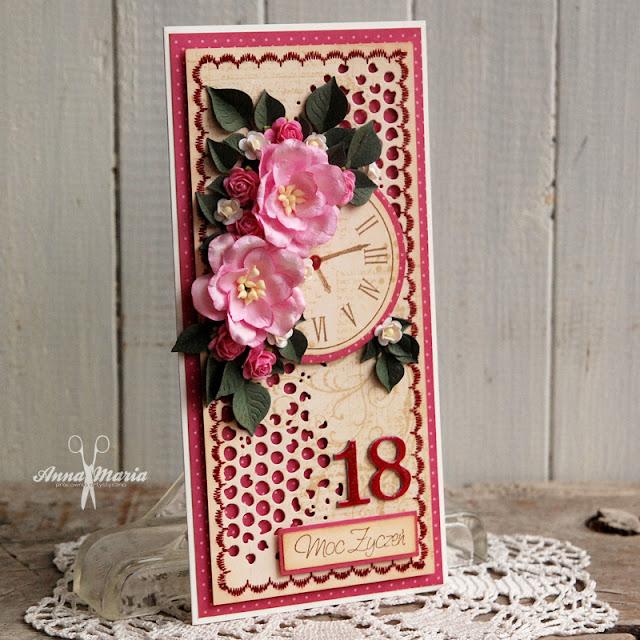 Kwiaty i nasycone kolory na osiemnastkę