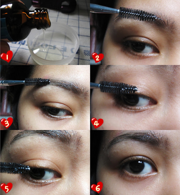 Growing Out Your Eyelasheseyebrows Using Castor Oil Miss Princess