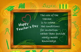 Happy Teachers day Poems