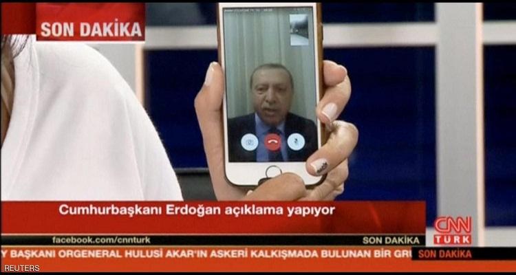 قصة أغرب من الخيال للمكالمة الهاتفية التي أنقذت أردوغان