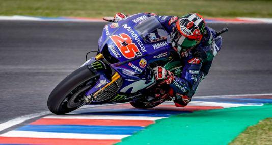 Hasil MotoGP Prancis: Vinales Tercepat FP3, Rossi P3