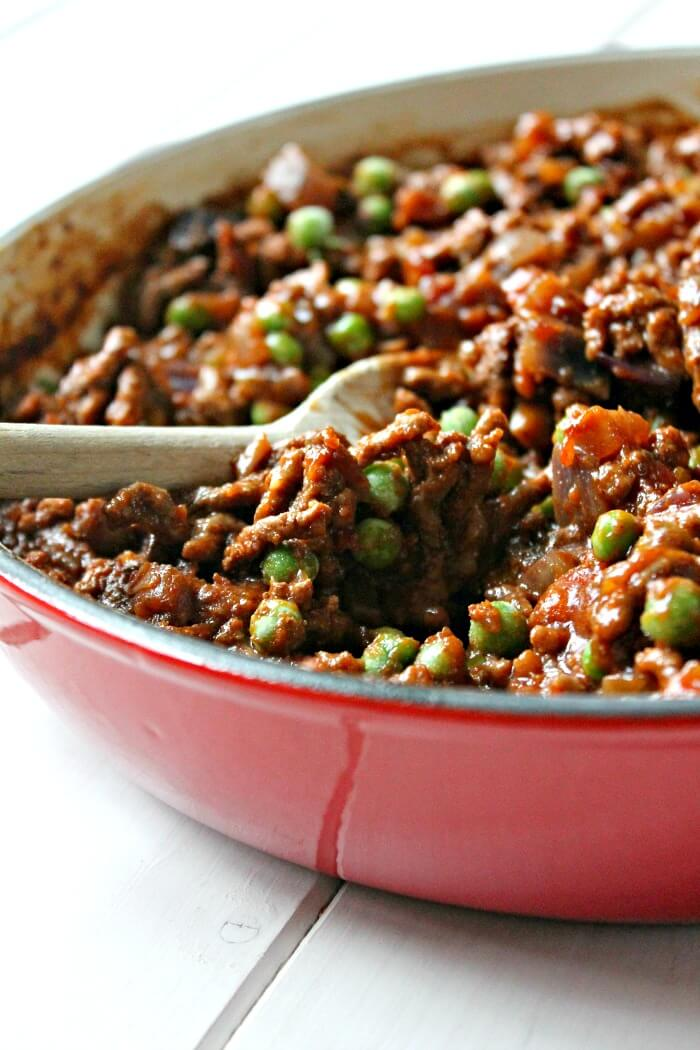 One Pot Beef Keema (slow cooker)