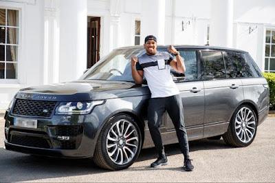 Checkout Anthony Joshua's Customized Range Rover SVAutobiography Worth N40million (Photos)