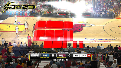 NBA 2K13 ESPN HD Watermark & Overlay Patch