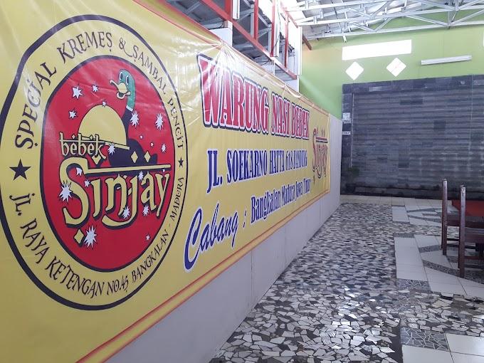 Bebek Sinjay Kini Ada Di Bandung