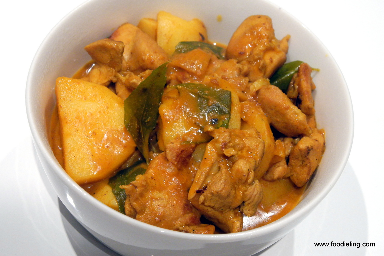Chicken Curry Chinese Restaurant Style