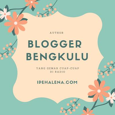 Blogger Bengkulu Yang Berprofesi Sebagai Penyiar Radio