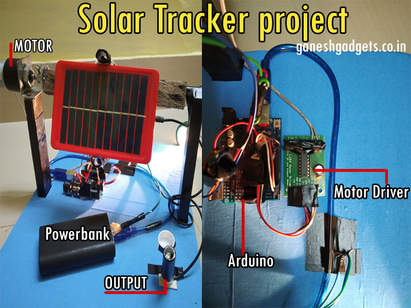 "SOLAR TRACKER"" USING ARDUINO"