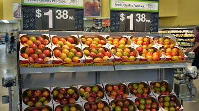My Scraps   Selection of Mangoes at Walmart
