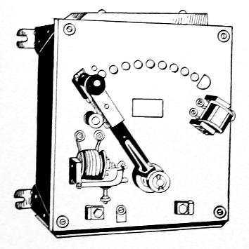 DC motor starting rheostat