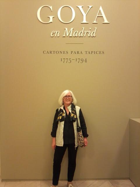 Goya, Cartones, tapices, exposicion, exposiciones temporales, museo del prado, pintura, francisco de goya, arte, madrid, spain, voa gallery, yvonne brochard,