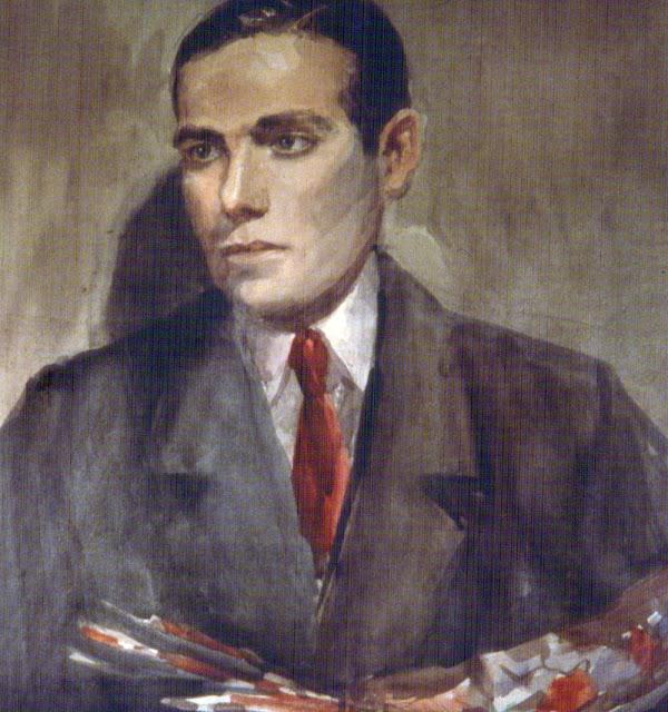 Jacinto Olivé Font, Self Portrait, Portraits of Painters, Fine arts, Jacinto Olivé, Portraits of painters blog, Paintings of Jacinto Olivé, Painter Jacinto Olivé
