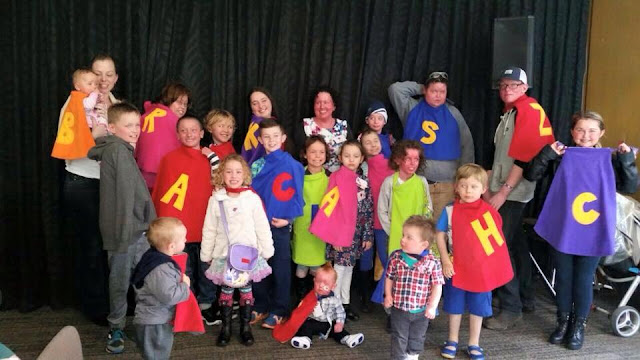 Australian Ichthyosis Meet photo - people in capes