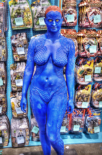 awesome mystique xmen cosplay