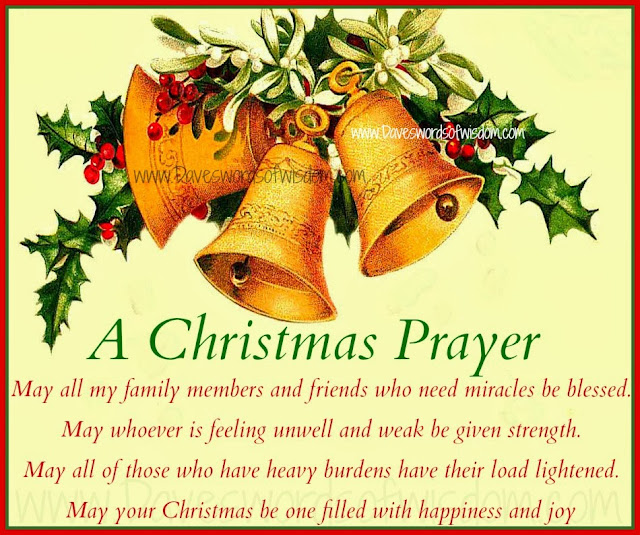 Catholic Prayer Of Merry Christmas 2016
