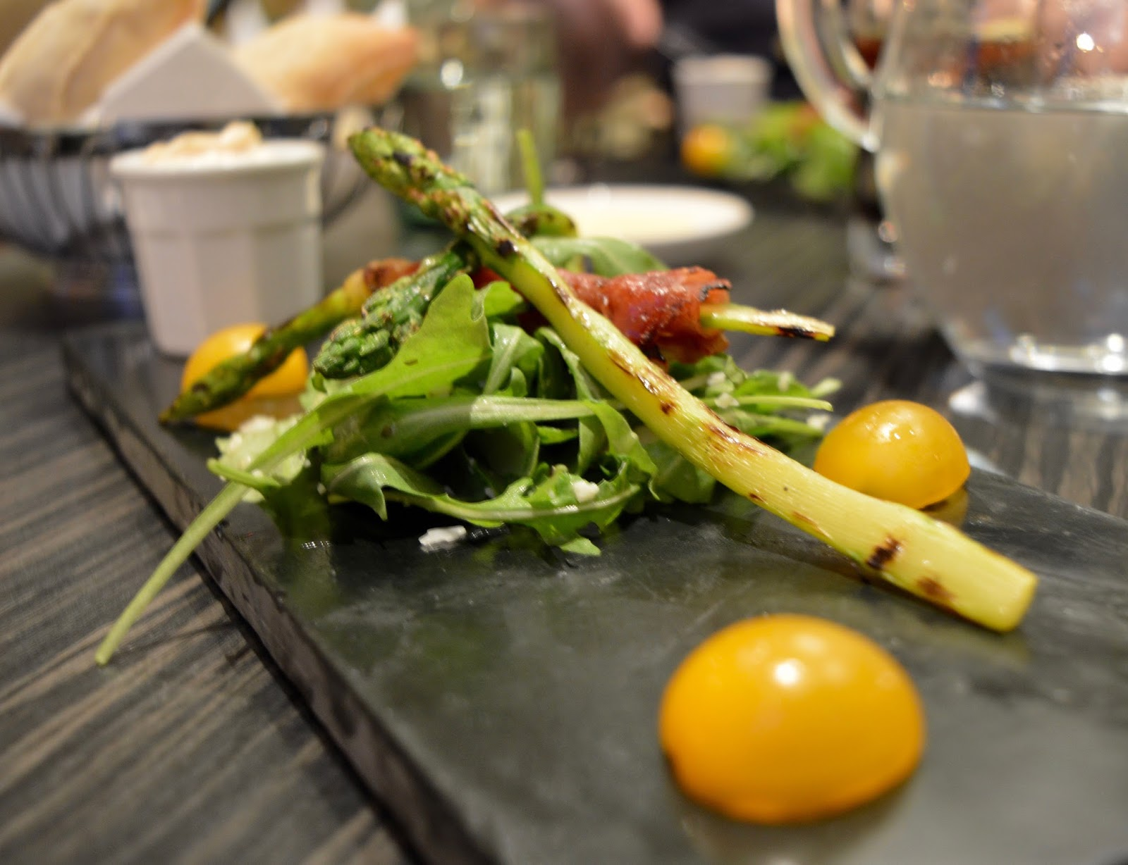 The Brasserie at the Grand Hotel, Tynemouth | New Tasting Menu review  - Asparagus