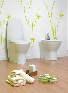 creative kids bathroom paint colour plus light laminate floor and ultra modern toilets desinging ideas