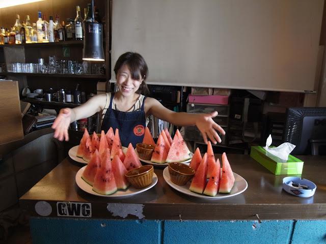 渋谷にあるSundaland Cafeでイベントを開催した時の模様です。