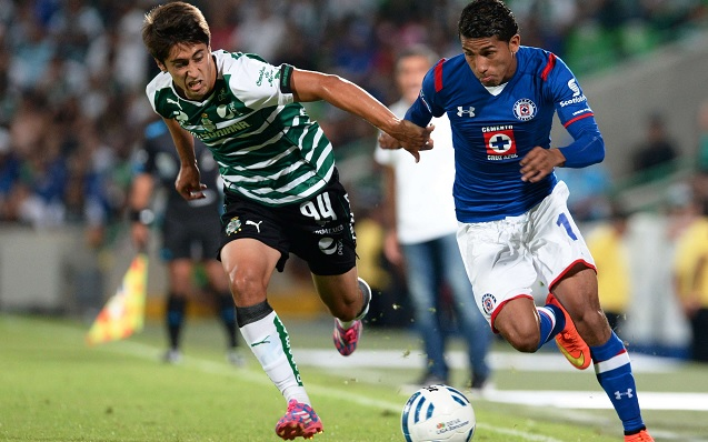 Santos vs Cruz Azul en vivo Final Copa Socio MX