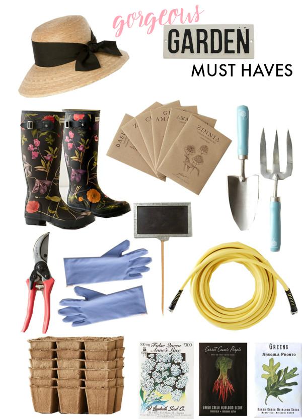 garden must haves for a green-thumb in training!