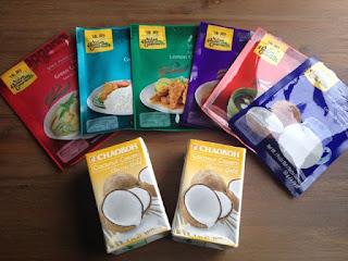 Currypasta's van Asian Home Gourmet