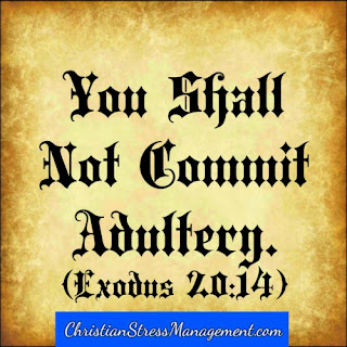 The seventh 7 commandment You shall not commit adultery Exodus 20:14