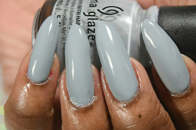 "China Glaze The Giver Collection ""Intelligence, Integrity, & Courage"" Swatch"