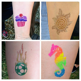 marin and ne ohio glitter tattoos