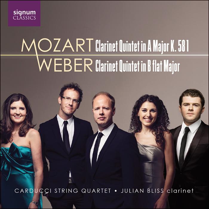 40231901aab Carducci String Quartet   Julian Bliss MOZART Clarinet Quintet in A Major  K. 581 WEBER Clarinet Quintet in B flat Major