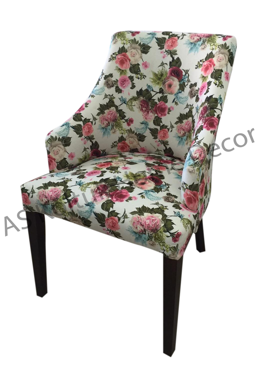 Floral Wingback Chair As Koltuk Home Decor For Sale Modern Floral Wing Chair
