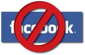 Menonaktifkan facebook