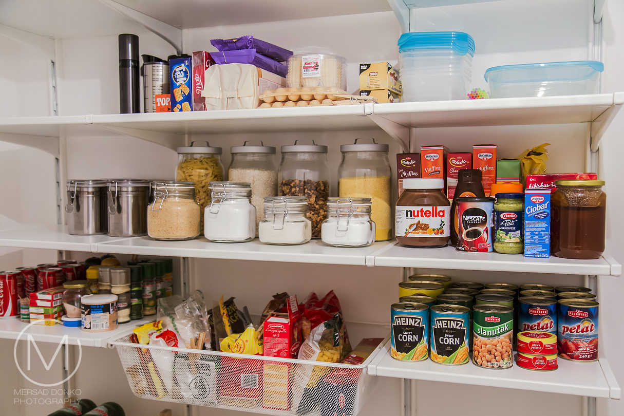 How I Set Up My Pantry With The Ikea Algot System
