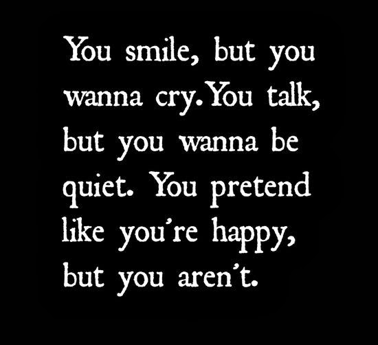 Really Sad Depression Quotes: Quotes Feeling Sad Today. QuotesGram