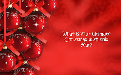 What is your ultimate Christmas wish for this year?
