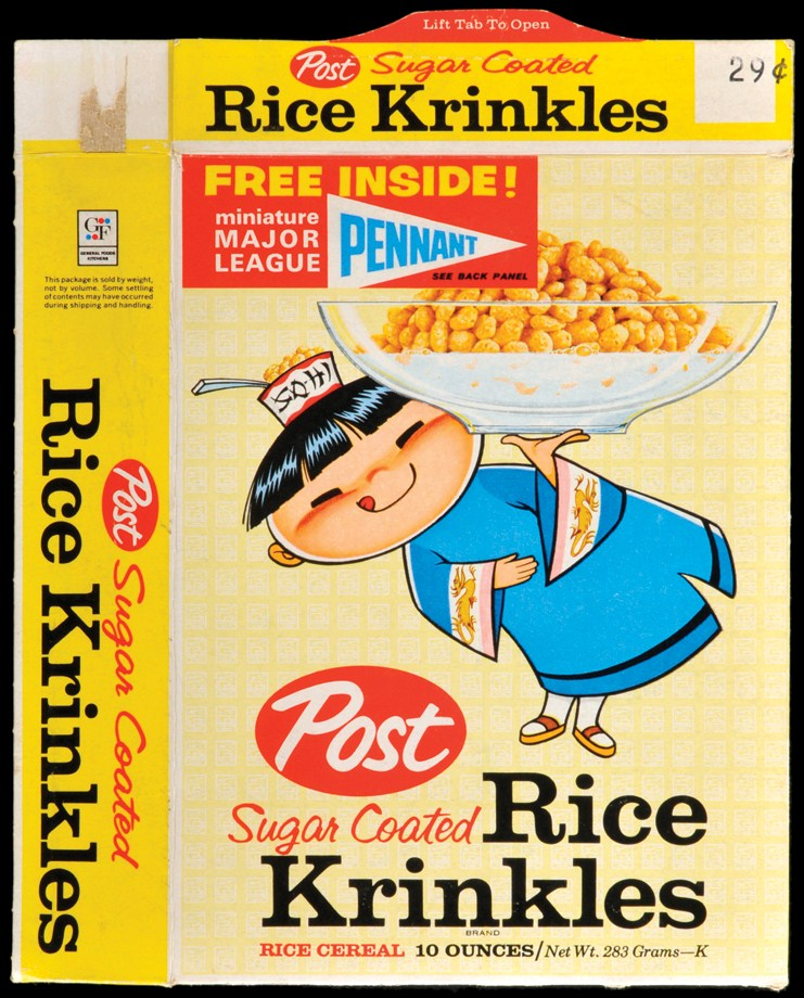 The Fleer Sticker Project: How A Box Of Post Rice Krinkles