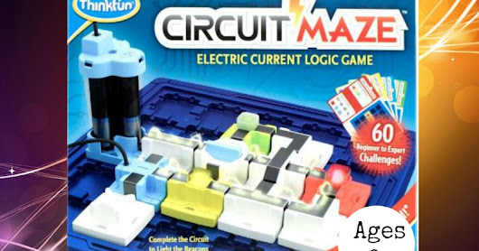 Circuit Maze~ Electric Current Logic Game from ThinkFun {Timberdoodle Product Review}