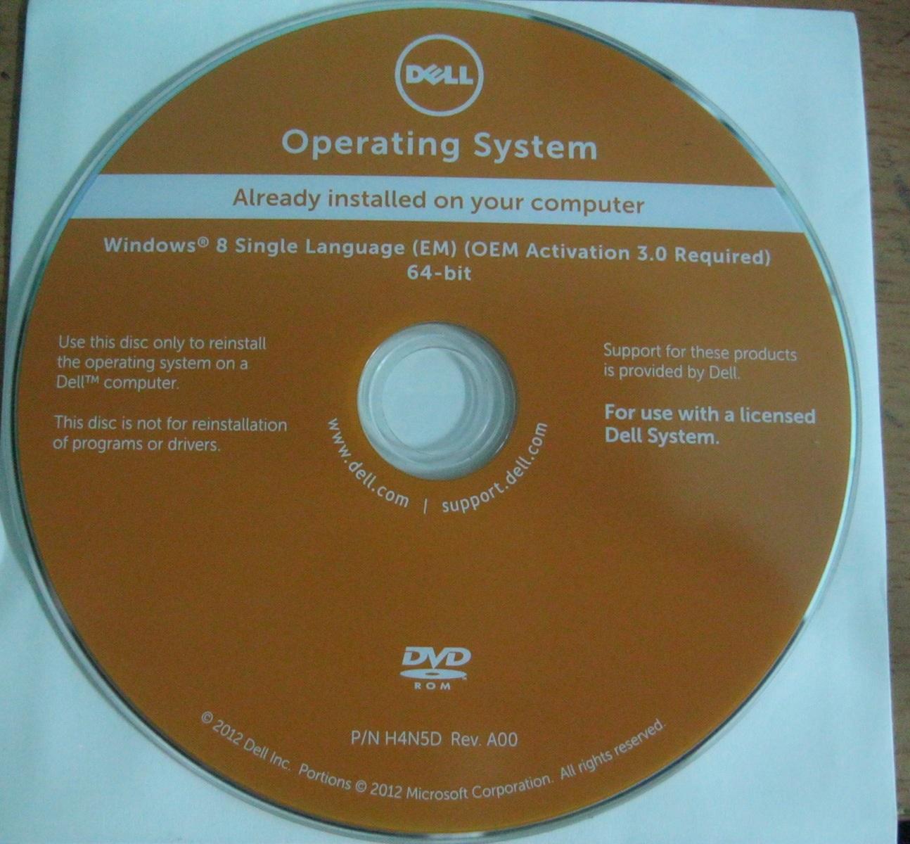 نسخة ويندوز 8.1 الرسمية لأجهزة dell