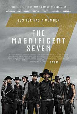 The Magnificent Seven 2016 Hindi Dubbed 300MB BluRay 480p