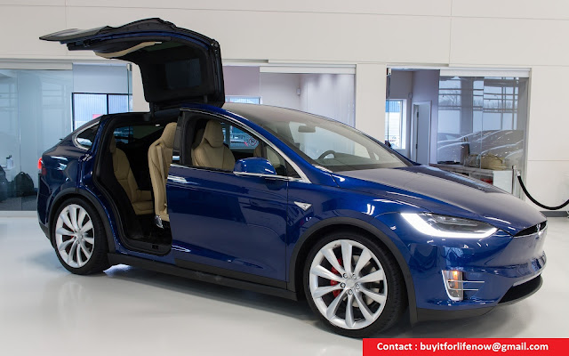 2017 Tesla Model X P100d Suv Awd