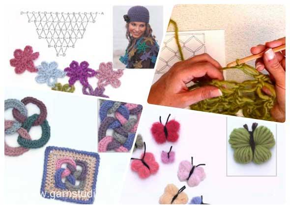 crochet facil principiantes, labores para iniciadas al ganchillo