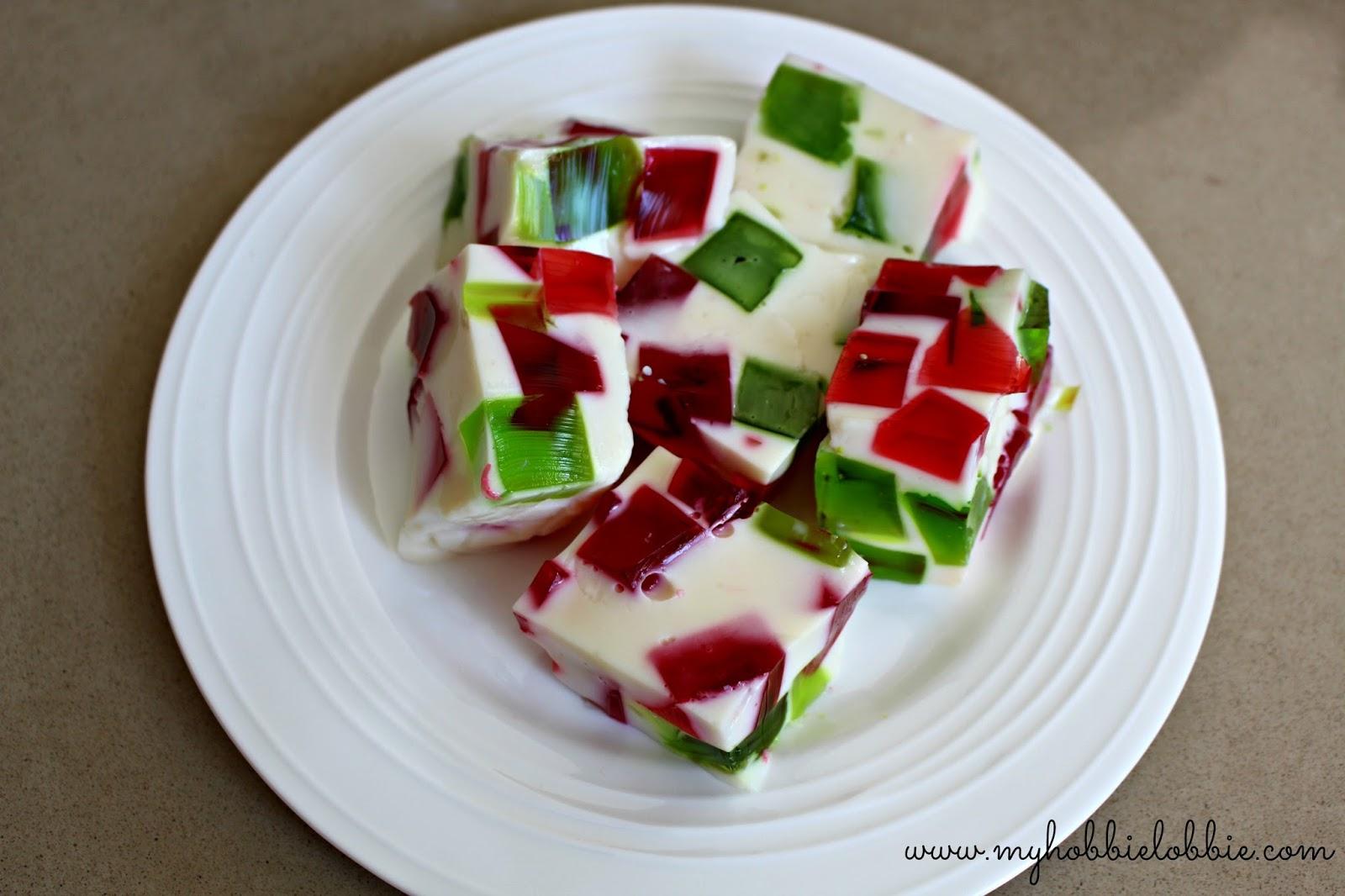 The Aspiring Home Cook Christmas Broken Glass Jello
